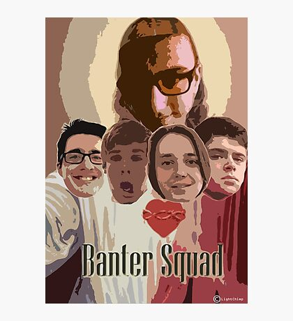 GTA Banter Squad Photographic Print