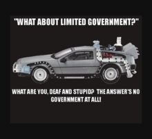 The Answer's No! by JLDVoluntaryist
