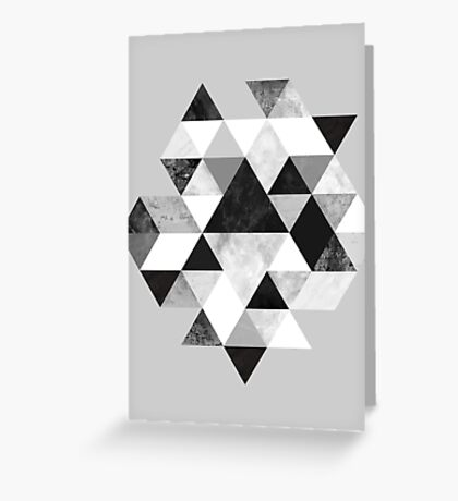 Graphic 202 Black and White Greeting Card