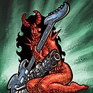 SMG Guitar 001 by Ian Sokoliwski