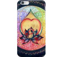 """The Drop of Golden Rain"" - Mandala of Wealth iPhone Case/Skin"