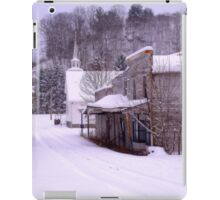 Back Alley White iPad Case/Skin