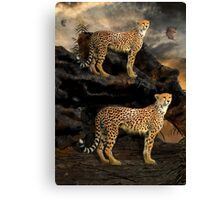 To Hunt in Pairs Canvas Print