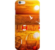 Double Sun on a Sussex Beach iPhone Case/Skin