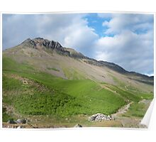 The Lake District: Great Gable Poster