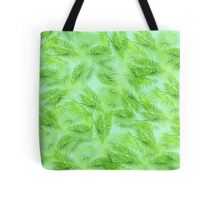 Summer Palm Pattern  Tote Bag