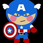 Little Captain America by Sonia Pascual