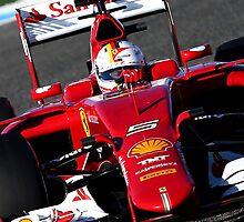 Ferrari F1 Sebastian Vettel by roberto-immucci
