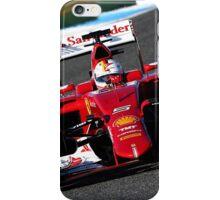 Ferrari F1 Sebastian Vettel iPhone Case/Skin