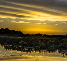 Photographic Sunset Artwork by wrench