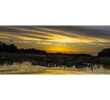 Photographic Sunset Artwork Photographic Print