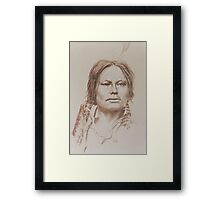 Chief Gall Framed Print