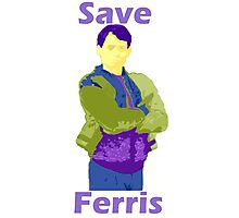 Save Ferris Bueller Photographic Print