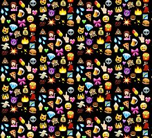 Emoji Pattern by caseyward