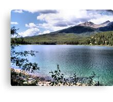 Hidden Lake Canvas Print