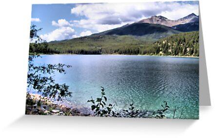 Hidden Lake by Leslie van de Ligt