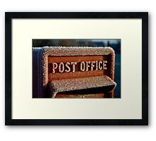 British Postbox Framed Print