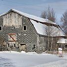 Montgomery Barn by Deborah  Benoit