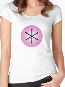 E Pluribus Anus! Women's Fitted Scoop T-Shirt