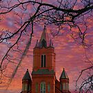 St. Landry Catholic Church: Opelousas, Louisiana by Bonnie T.  Barry