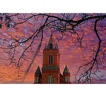 St. Landry Catholic Church: Opelousas, Louisiana Photographic Print