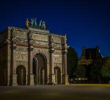 Arc de Triomphe du Carrousel by mlphoto