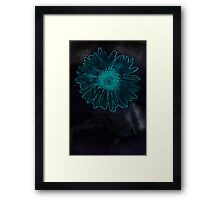 Cyan, for you... Framed Print
