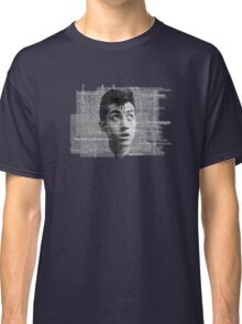 Alex Turner Face Typography Classic T-Shirt