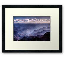 Storm Cloud Rising Framed Print