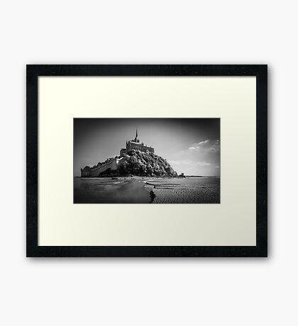 Mont St Michel Framed Print