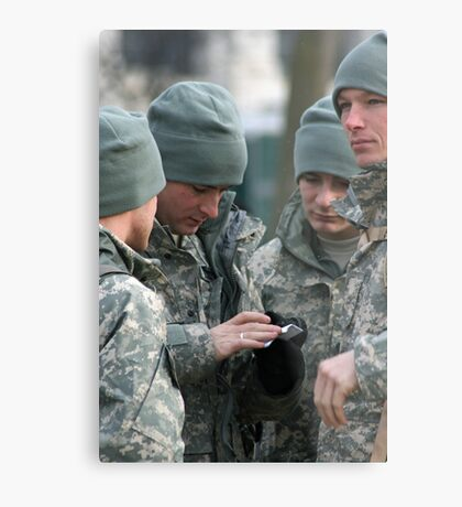 Army Guys Metal Print