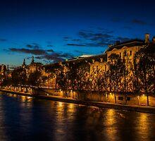 River Seine by mlphoto
