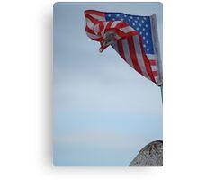 small flag Canvas Print