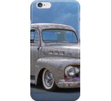 1951 Ford 'Work in Progress' Custom Pickup iPhone Case/Skin