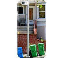 That Gray Plastic Chair - Garbage Day iPhone Case/Skin