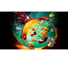 Rayman Legends - Dragon Photographic Print
