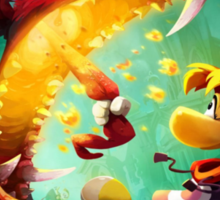 Rayman Legends - Dragon Sticker