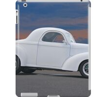 1941 Willys Coupe 'Ain't No Beluga' iPad Case/Skin