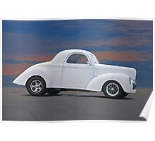 1941 Willys Coupe 'Ain't No Beluga' Poster