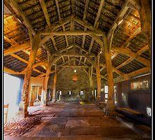 Wycoller barn by Shaun Whiteman