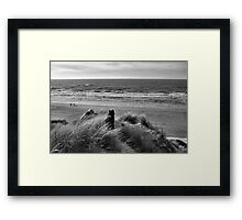 On Top of A Dune Framed Print
