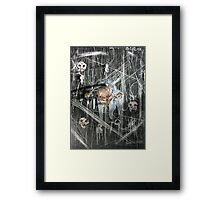 The Crawling Framed Print