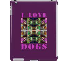 I Love Dogs iPad Case/Skin