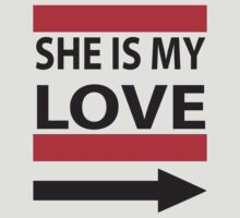 She is My Love by mccdesign