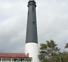 Pensacola Lighthouse by Edith Farrell