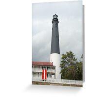 Pensacola Lighthouse Greeting Card