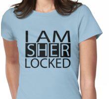I AM SHERLOCKED Womens Fitted T-Shirt
