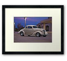 1937 Chevrolet Coupe  Framed Print