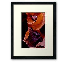 The Slippery Slope Framed Print