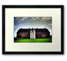 Simcoe Manor Barn Framed Print